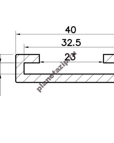 izobrazhenie 2021 04 28 212459 400x500 - Профиль скольжения C30x3 P3030V / P3030N