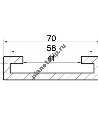 izobrazhenie 2021 04 28 213020 400x500 - Профиль скольжения C50x6 P5060V  / P5060N