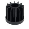 Заглушка резьбовая для круглой трубы 48.3Х1.5 резьба М16 41501 – изображение 2