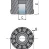 Заглушка резьбовая для круглой трубы 48.3Х1.5 резьба М16 41501 – изображение 3