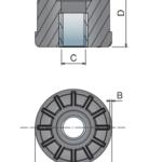 izobrazhenie 2021 05 18 131718 150x150 - Заглушка резьбовая для круглой трубы 48.3Х1.5 резьба М16 41501