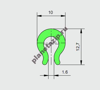 Профиль скольжения AVE P20285