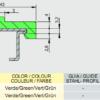 Профиль ограждения с металлом 43X10 AVE P20285 – изображение 3