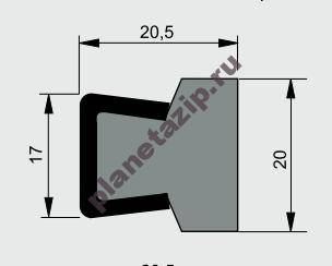 izobrazhenie 2021 07 31 111800 - Профиль ограждения с металлом AVE CSS10020