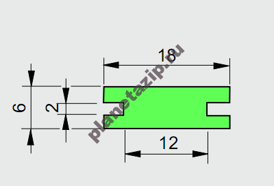 izobrazhenie 2021 07 31 112229 400x272 - Профиль ограждения  AVE P20354