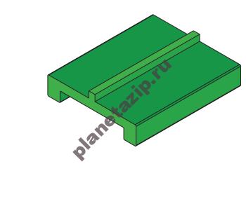 Профиль пластиковый L3 14952С