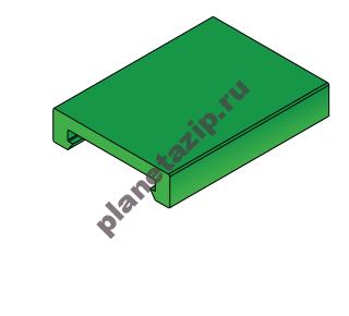Профиль пластиковый W40  L3 10903C