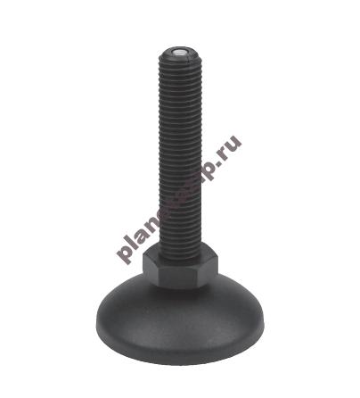 Опора шарнирная пластиковая D60 M16 L80/105  P90810PH
