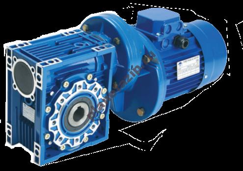 Цилиндро-червячный мотор-редуктор PC063-NMRV040-75-12-0,09  MS631-6 sf 1,3 47Нм